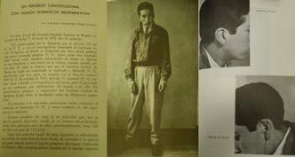 Imagen 3. Un perverso constitucional con signos somáticos degenerativos (Guillermo Uribe, 1954). Anales Psiquiátrico 8(31)1954).