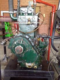Motor diésel Petter