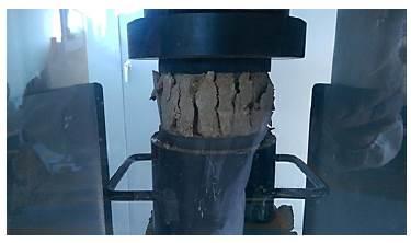 Falla de briqueta