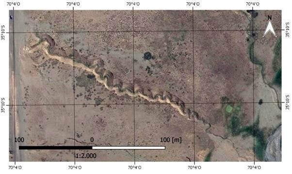 Canyon karst, al oeste Ruta Provincial 222. Geositio 1