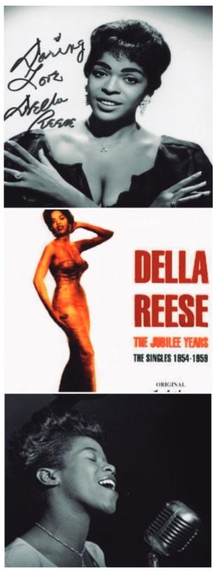 Imagen 3a-b: Retratos varios de Della Reese I-III