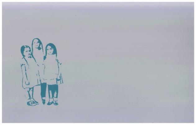 Imagen  10: Fractal III: tres niñas