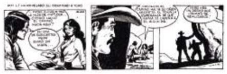 Imagen 9. Comic strip publicado por el diario El Uni-verso en junio 7 de 1983.