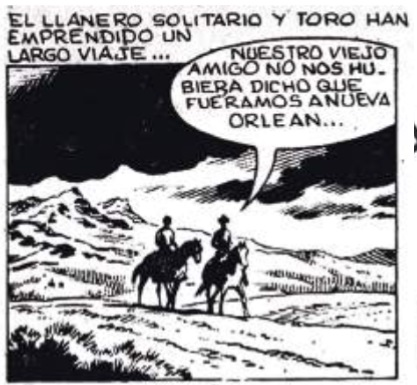 Imagen  15.  Panel  de  comic  strip  publicado  por  el  diario El Universo en julio 9 de 1983.