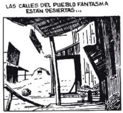 Imagen  16.  Panel  de  comic  strip  publicado  por  el  diario El Universo en octubre 7 de 1983.