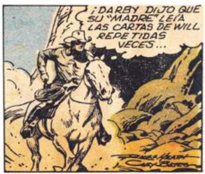 Imagen 24. Panel del Comic strip publicado por el diario El Universo el 13 de junio de 1983.