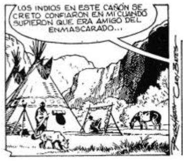Imagen 32. Paneles del comic strip publicado por el diario El Universo  en junio 10 de 1983.