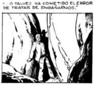Imagen 32. Paneles del comic strip publicado por el diario El Universo  en junio 23 de 1983.
