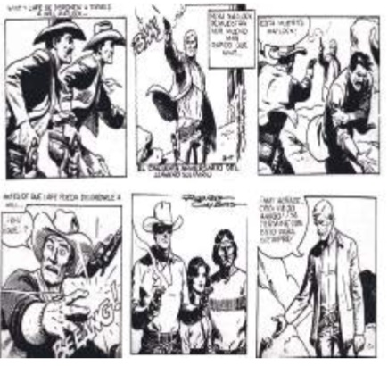 Imagen 34. Comic strips publicados por el diario El Universo en junio 30 y julio 1 de 1983.