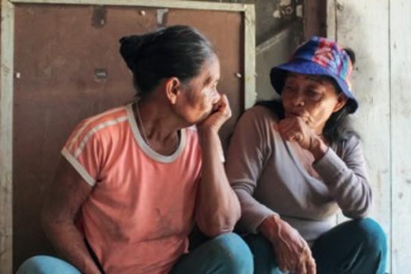 Las abuelas Juanita y Lucrecia