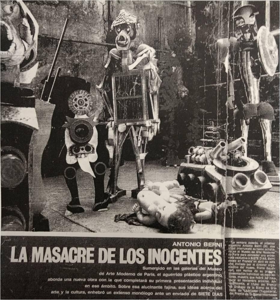 "Imagen  3. ""Antonio Berni, La  Masacre de los Inocentes"""