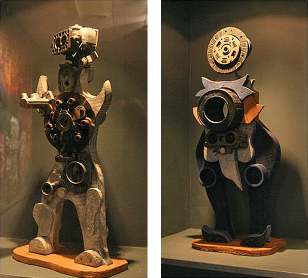 Imagen  5. Antonio Berni, Robot, La Masacre de los Inocentes