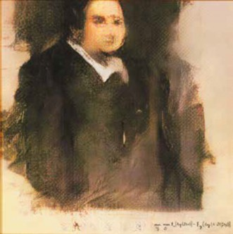 Imagen 2. Portrait of Edmond Belamy.