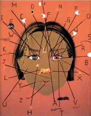 Imagen 3. Monica Castillo, Alfabeto, 1996