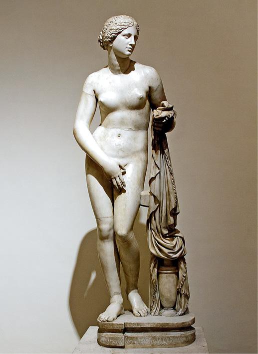 Figure 1. Aphrodite Cnidus (inv. 8619). (Bernardes Ribeiro, 2015). Palazzo Altemps – Rome.