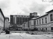 El Hospital San Juan de Dios. Desde la Carrera Décima (Izq.), desde la Calle 1ra (Der.). Fotos autor