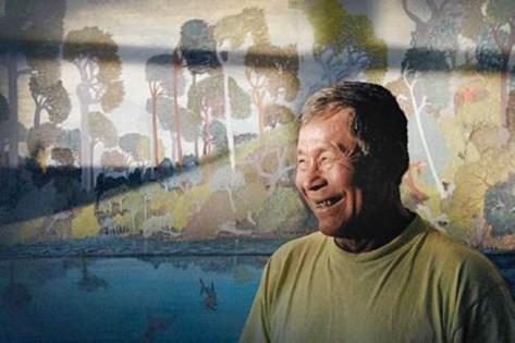 Abel Rodríguez (1941), de la etnia Nonuya en la región de Araracuara, se convirtió desde 1986 en el nombrador y reconocedor de plantas de la región. Foto Luis Ángel, 2011 (El Espectador).