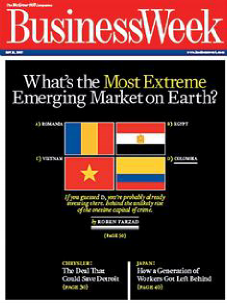 Portada de Business Week del 27 de mayo de 2007. Cortesía www.bloomberg.com