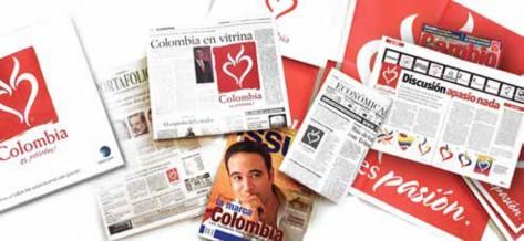 """Uno de los """"banners"""" de la página web de VMA Worldwide, sobre el estudio de caso de la marca """"Colombia es pasión"""". Fuente: VMA Worldwide."""