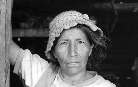 Gertrudis de Lame, esposa de Justiniano Lame, líder asesinado. Nuestra voz de tierra memoria y futuro (1974-1980).