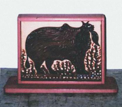 Imagen 7. Sem título. (Alcides Pereira dos Santos, 1984).