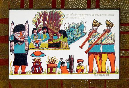 Imagen 6. Sem título. (Alcides Pereira dos Santos , 1980). Óleo sobre tela, 43 x 68 cm. Coleção Humberto Espíndola, Campo Grande-MS.