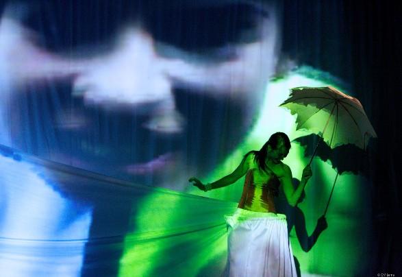 Imagen 3. Muestra de danza, IV año (2012). Arte Danzario, ASAB. Énfasis Interpretación. Fotografía: Carlos Mario Lema.