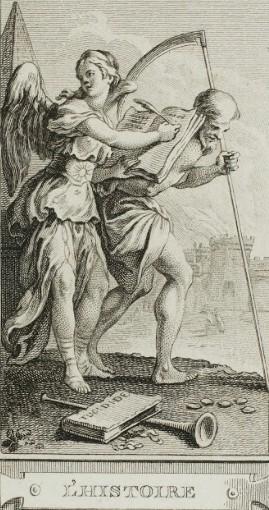 Imagen 2. L´histoire (H.F. Gravelot y Ch.N Cochin). Fuente: http://materialisttheology.blogspot.com/2012/09/walter-benjamin-seminar-atjan- van-eyck.htm