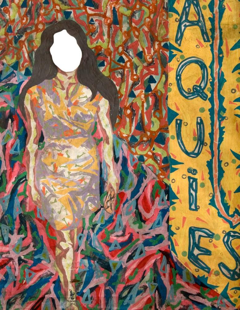 Imagen 1. Invitación a la exposición en el Museo de Arte Moderno de Barranquilla (1999).