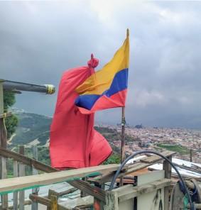 Imagen 2. Fotografía: Barrio Tocaimita, Localidad de Usme, Bogotá, Propiedad de Fundación Antífona.