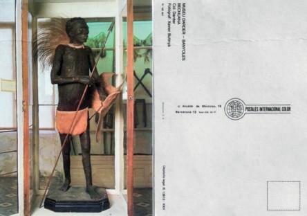 Guerrero banyoles Postal Museo Darder Imagen recuperada de