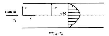 Illustration of Graetz problem.
