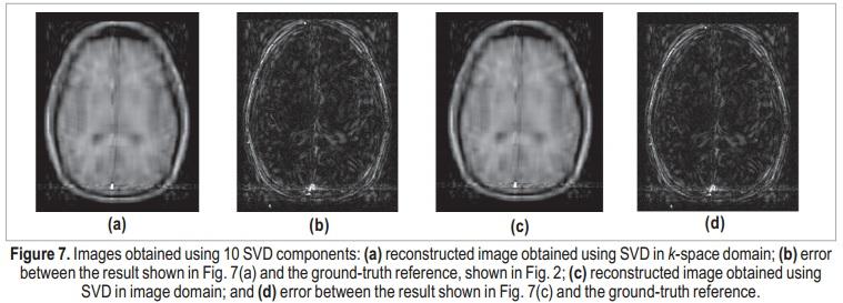 Improved MRI Reconstruction Using a Singular Value