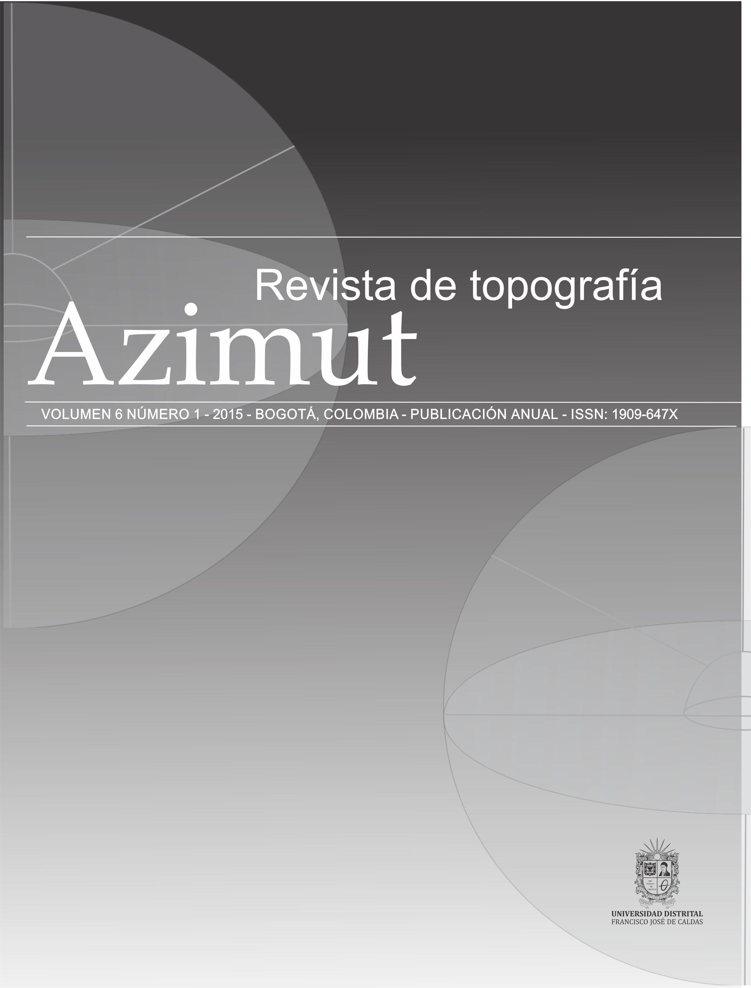 Ver Vol. 6 Núm. 1 (2015)