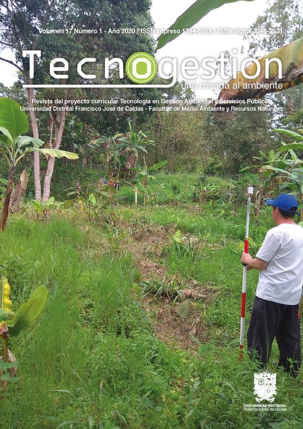 Ver Vol. 17 Núm. 1 (2020): Tecnogestión: Una mirada al ambiente