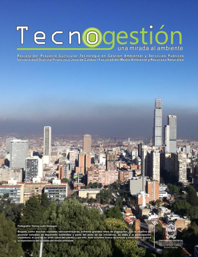 Ver Vol. 15 Núm. 1 (2018): Tecnogestión: Una mirada al ambiente