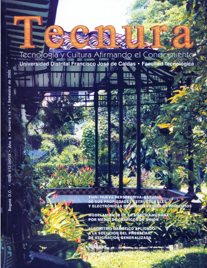 Ver Vol. 8 Núm. 16 (2005): Enero - Junio 2005
