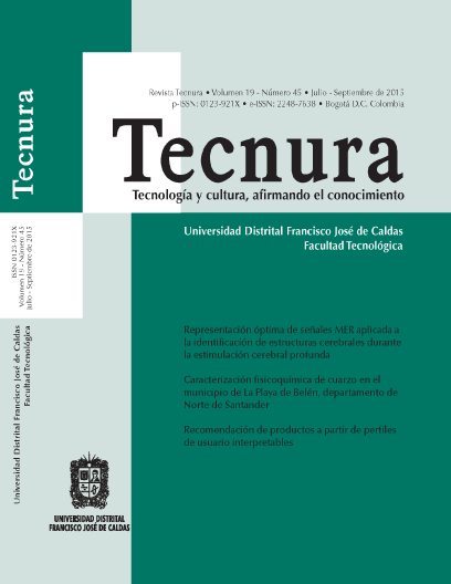 Ver Vol. 19 Núm. 45 (2015): Julio - Septiembre