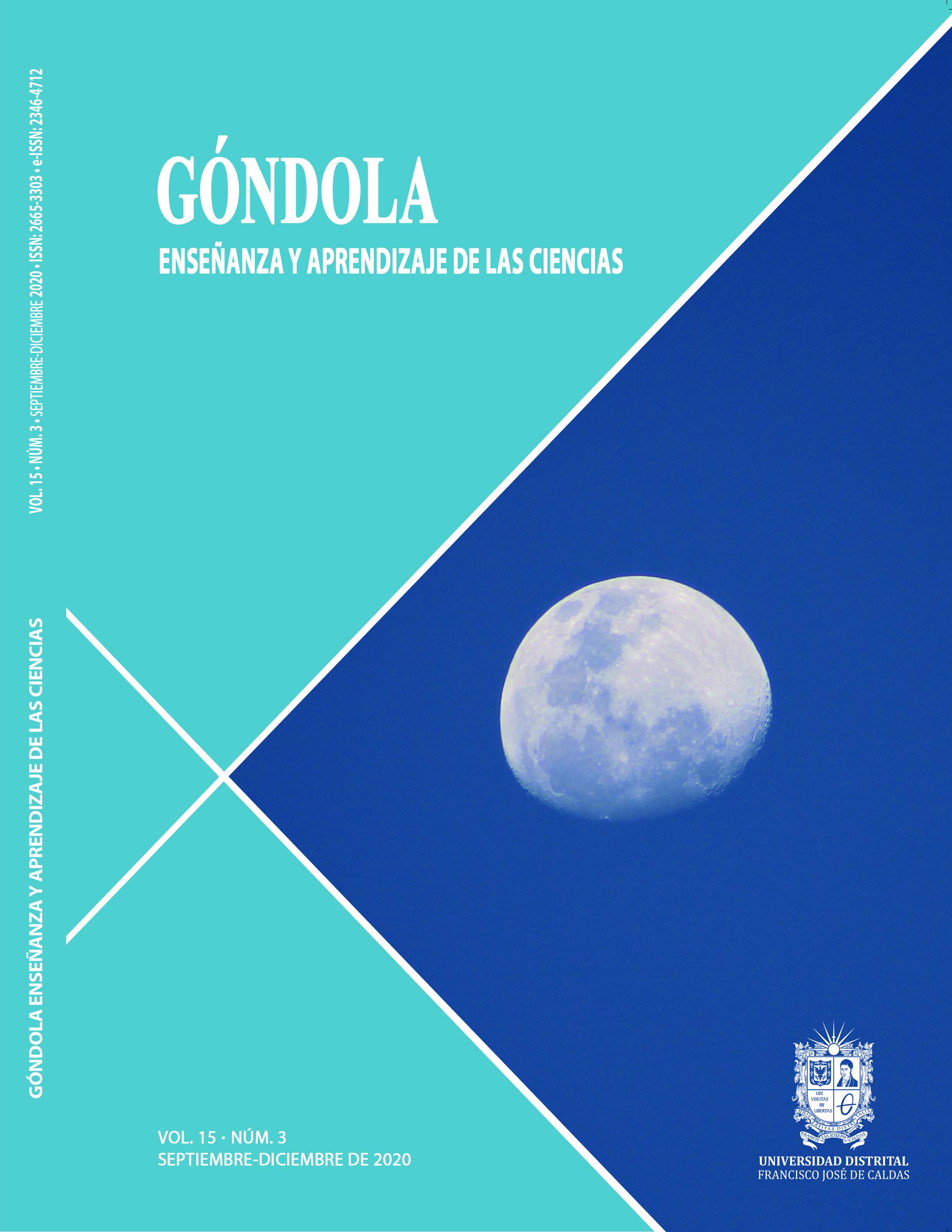 Caratula revista Góndola, enseñanza y aprendizaje de las Ciencias