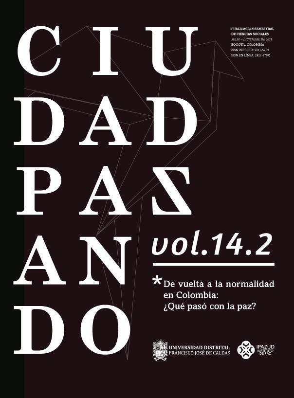 Ver Vol. 14 Núm. 2 (2021): junio - diciembre. De vuelta a la normalidad en Colombia: ¿Qué pasó con la paz?