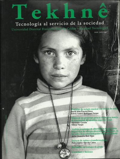 Ver Vol. 1 Núm. 2 (2004): Revista Tekhnê