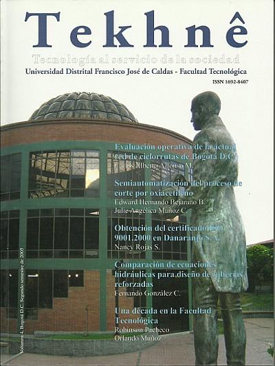Ver Vol. 4 (2005): Revista Tekhnê