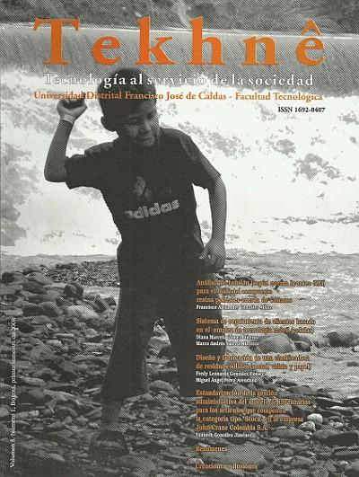 Ver Vol. 5 Núm. 1 (2008): Revista Tekhnê