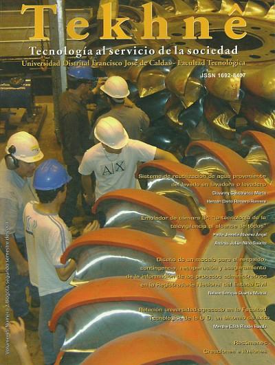 Ver Vol. 5 Núm. 2 (2008): Revista Tekhnê