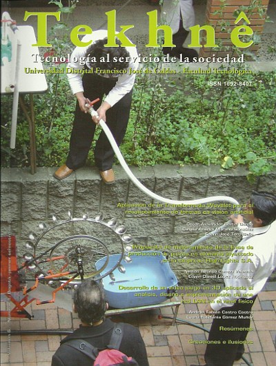 Ver Vol. 6 Núm. 1 (2009): Revista Tekhnê