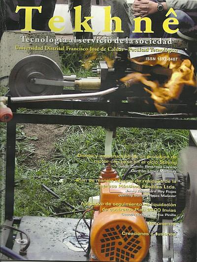 Ver Vol. 6 Núm. 2 (2009): Revista Tekhnê
