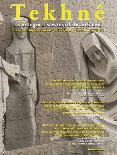 Ver Vol. 10 Núm. 1 (2013): Revista Tekhnê