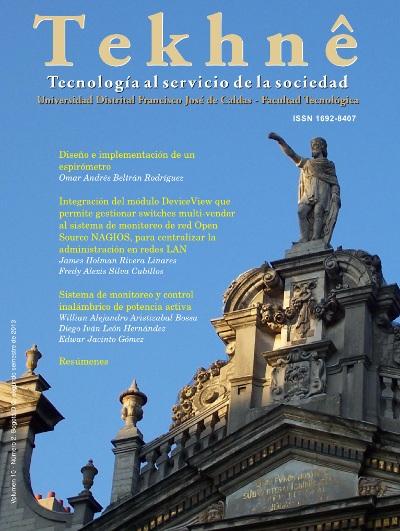 Ver Vol. 10 Núm. 2 (2013): Revista Tekhnê