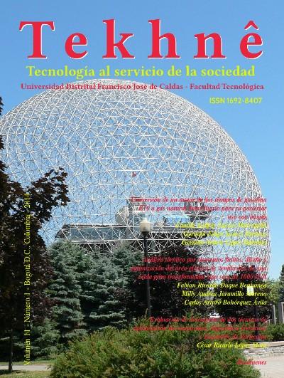 Ver Vol. 11 Núm. 1 (2014): Revista Tekhnê