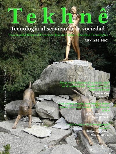 Vol. 14, Núm. 1 (2017): Revista Tekhnê